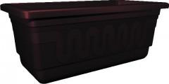 Truhlík samozavlažovací 60 cm hnědý Fantazie 650088