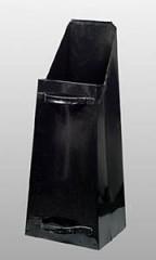 Uhlák hranatý násypný černý 560041