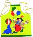 Zástěra kuchyňská dětská 52x56 cm Klaun 340003
