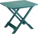 Stůl skládací Tevere zelený 4730162