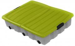 Box s kolečky 80x60x17 cm 1540060