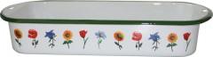 Pekáč smalt 40 cm květina 2060066