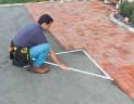 Skladacie stavbársku uholník Stanley 120x120x172cm 1-45-013