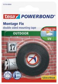 Montážní oboustranná pěnová páska venkovní TESA 10 kg/1 m 1,5 m x 19 mm 55750