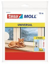 Okenní a dveřní těsnící pěna TESA 10 m x 15 mm x 6 mm bílá 05454