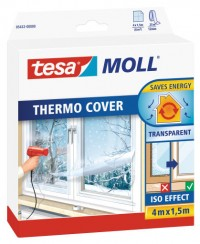 Transparentní fólie na okno Thermo Cover TESA 4 m x 150 cm 05432