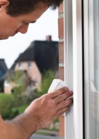 Okenní a dveřní těsnění Economy guma TESA D profil 6 m x 9 mm x 8 mm bílá 05393-102