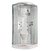 Sprchový masážní box LaVacio WHITE DREAM