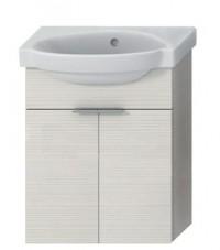 Skříňka s umývátkem 45 cm JIKA TIGO bez otvoru pro baterii creme 4.5510.4.021.560.1