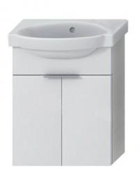 Skříňka s umývátkem 45 cm JIKA TIGO bez otvoru pro baterii creme-bílá 4.5510.4.021.991.1