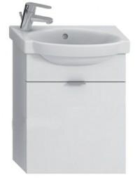 Skříňka s umývátkem 45 cm JIKA TIGO otvor pro baterii vlevo bílá 4.5510.2.021.500.1