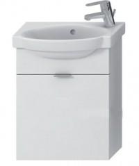 Skříňka s umývátkem 45 cm JIKA TIGO otvor pro baterii vpravo bílá 4.5510.7.021.500.1