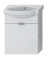 Skříňka s umývátkem 45 cm JIKA TIGO bez otvoru pro baterii bílá 4.5510.8.021.500.1