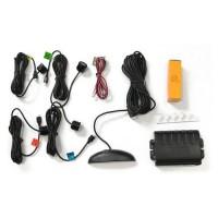 Parkovací asistent 4 senzory LED displej 33561