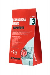Šamotová malta 5 kg HSF19-005