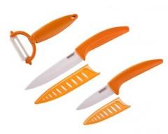 BANQUET Sada keramických nožů GOURMET CERAMIA Arancia, 3 ks