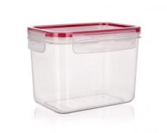 BANQUET Dóza plastová hermetická SUPER CLICK 1,05 l, červená