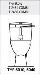 Ventil vypouštěcí 7010 WC 2560000