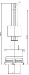 Ventil vypouštěcí 7020 WC 2560004