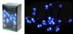 Světla vánoční 80 LED modrá vnitřní i venkovní 4261071