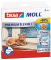 Silikónové tesnenia do okien Tesamoll Premium flexible biele 05417-01