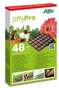 Jiffy-7 Náhradní podložka 48 ks rašelinové tablety