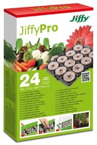 Jiffy-7 XXL Náhradní podložka 24 ks rašelinové tablety