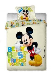 Povlečení bavlna Disney Mickey letter