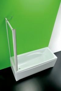 Vanová zástěna Skipper Soupravasca fisso MA 67 – 70 x 150 cm čiré sklo