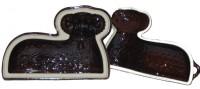 Forma beránek 30/20/13 cm keramika dvoudílná