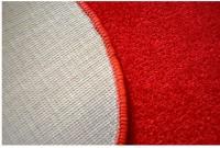 Kusový koberec Eton Srdce oranžový 100x120 cm