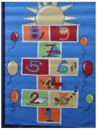 Dětský koberec Skákací panák Slunce 100x150 cm