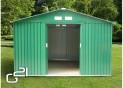 Záhradný domček G21 GAH 730 - 251 x 291 cm