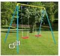 Záhradná hojdačka G21 GA 2SW pre 2 deti