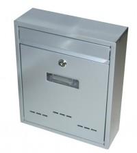 Schránka poštovní RADIM malá 310x260x90mm šedá
