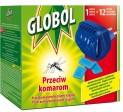 Odpařovač proti komárům elektrický s 12 polštářky Globol 2800162