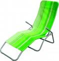 Lehátko plážové zelené 4050653
