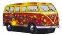 Detský koberec 750 Njoy VW Njoy Bulli červený 40 x 70 cm