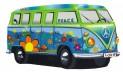 Detský koberec 750 Njoy VW Njoy Bulli modrý 40 x 70 cm