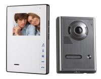 """OPTEX 990263 Barevný bezsluchátkový 4 dveřní videotelefon"""""""