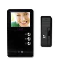 MOVETO 541034 Barevný bezsluchátkový dveřní videotelefon V-034