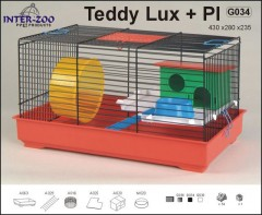 Klec TEDDY LUX I. kolor s plast.výbavou430x280x385mmDOPRODEJ
