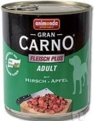 GRANCARNO Adult - jelení maso + jablka 800g
