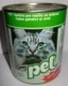 PET KATZE masové kostky se srdcem pro kočky 410 g
