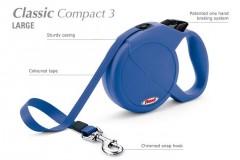 Flexi CLASSIC COMPACT 3 Large max. do 60 kg, 5 m pásek