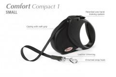 Flexi COMFORT COMPACT 1 Small max. do 15 kg, 5 m pásek