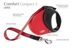 Flexi COMFORT COMPACT 3 Large max. do 60 kg, 5 m pásek