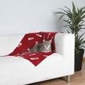 Flaušová deka BEANY 100x70cm