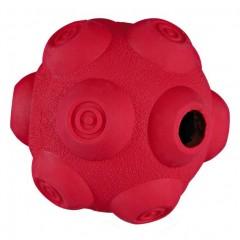Dog Activity - hrbolatý míč na pamlsky, tvrdá guma 9 cm