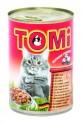 TOMI konzerva s hovězím pro kočky 400 g